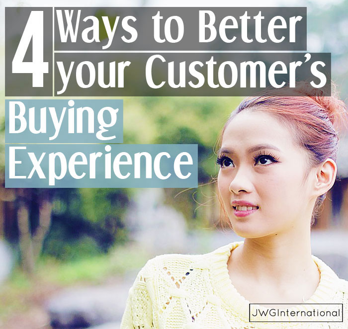 Better your Customer's Buying Experience