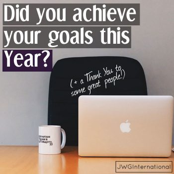 Did you achieve your goals this year