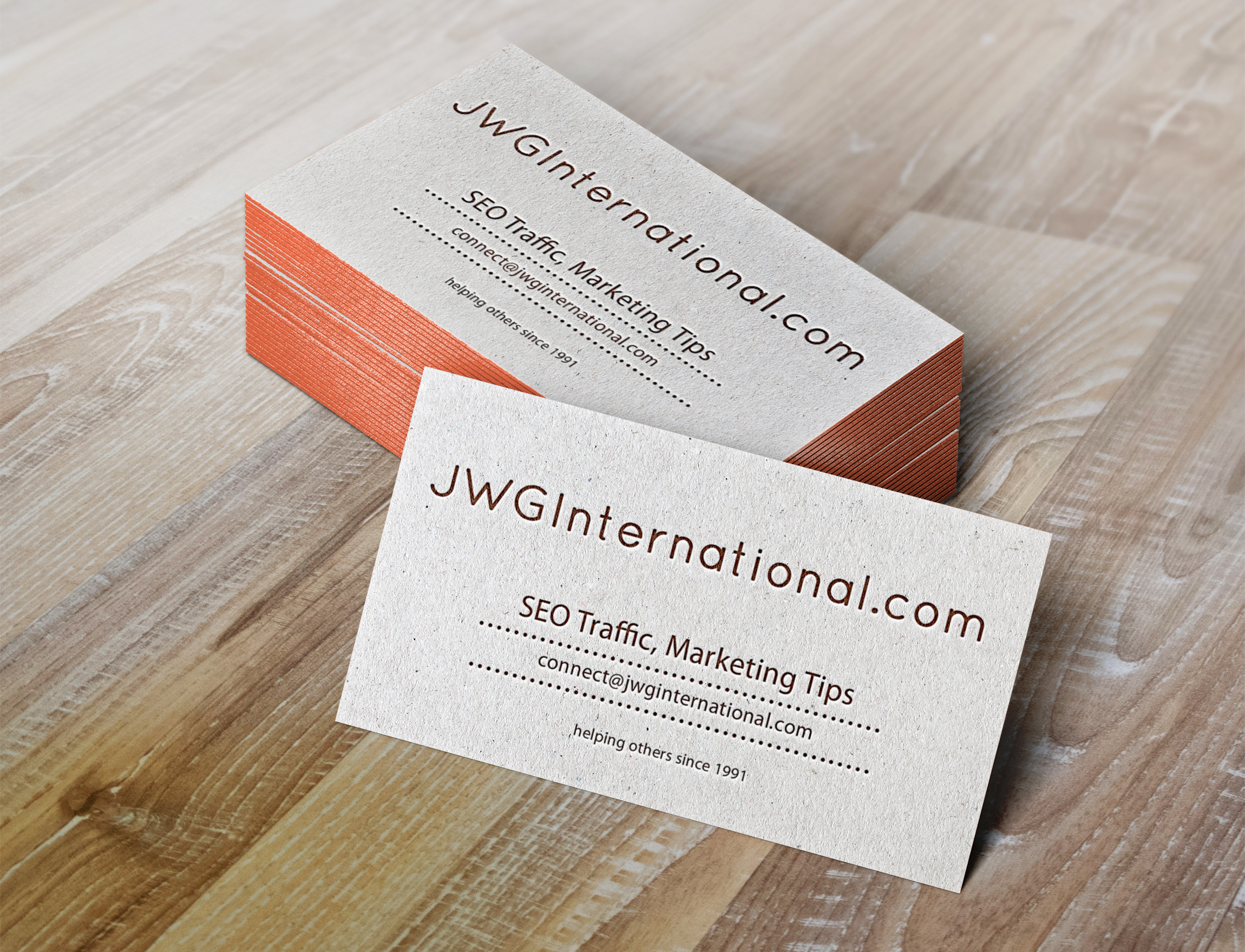 business cards marketing