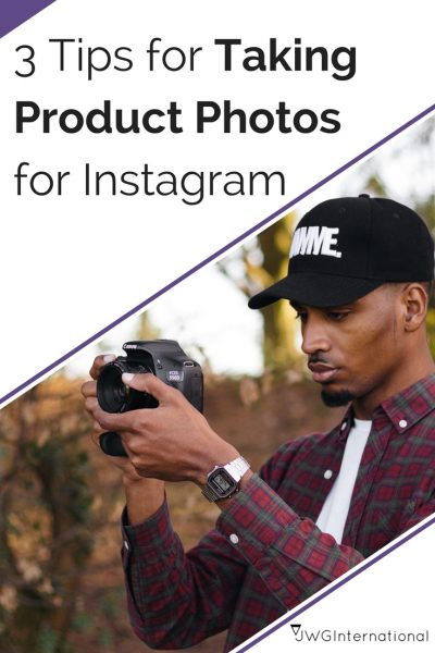 tips for Taking Product Photos for Instagram
