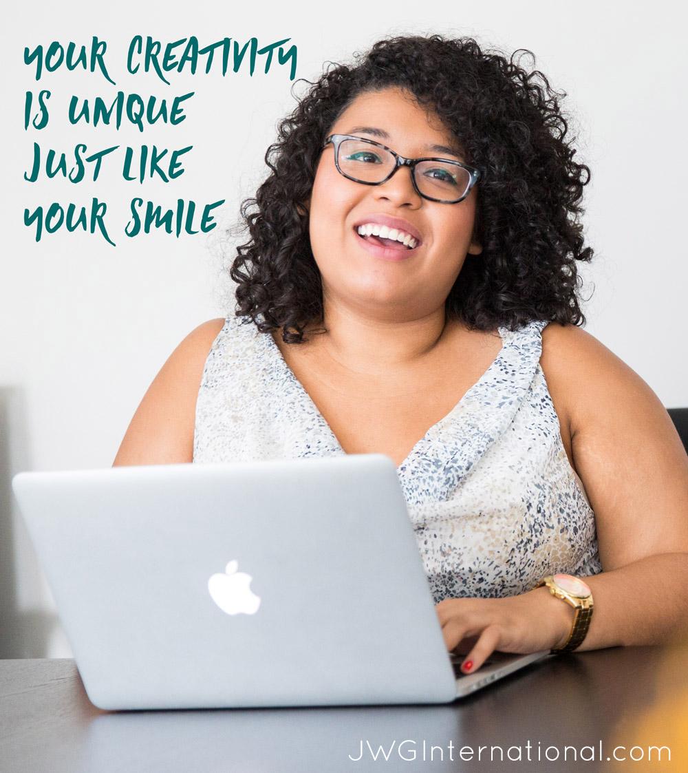creative blogging, creative business