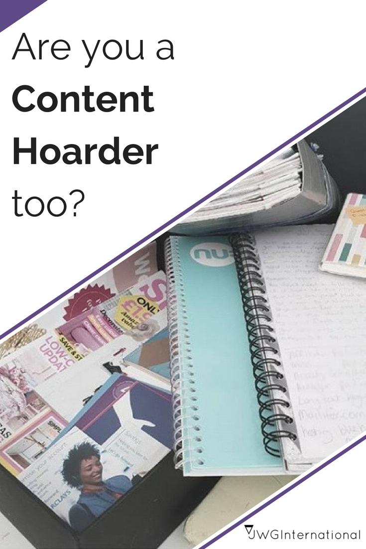 content hoarding too?