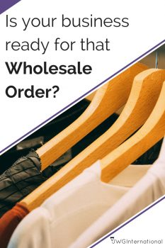 is your business ready for that large wholesale order?