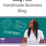 Handmade Business Blog: 7 Tips for your Next Blog Post