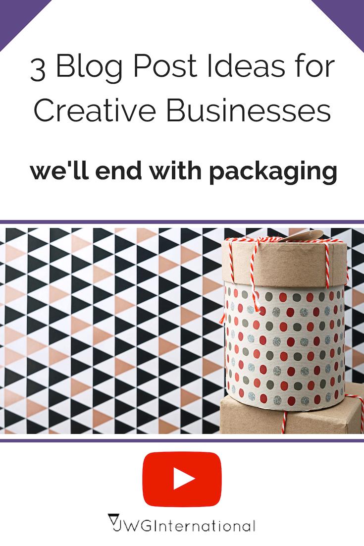 creative business blog post ideas