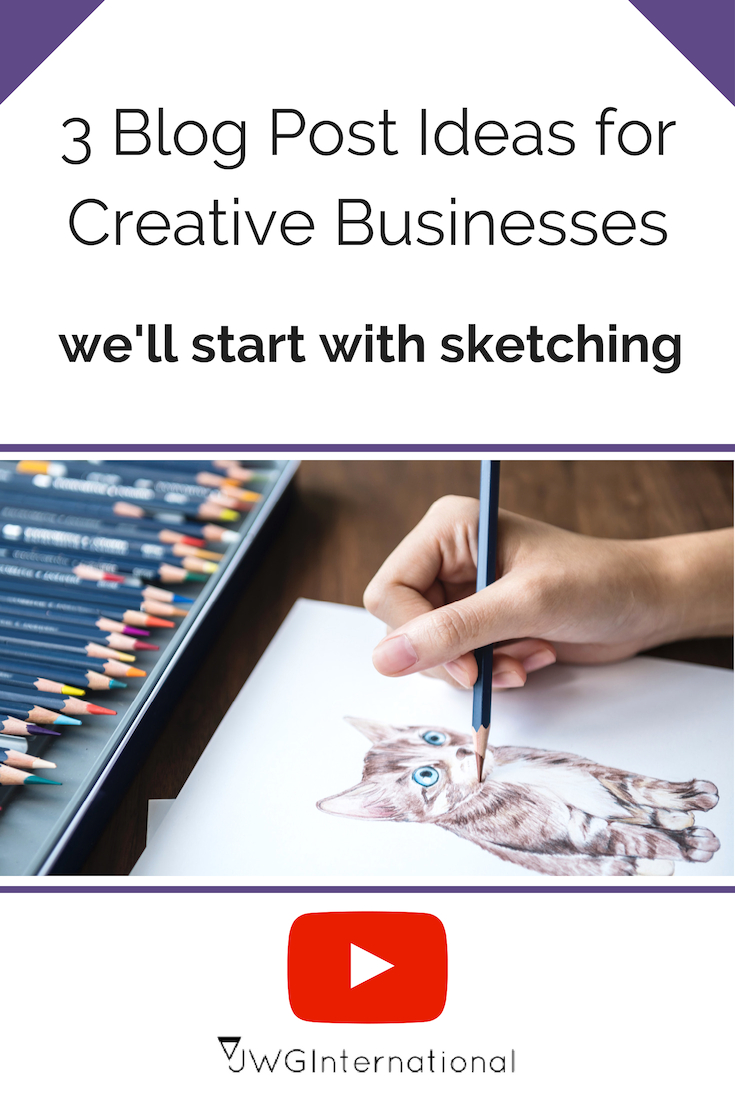 blog post ideas using sketching
