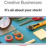 3 Blog Post Ideas for Creative Businesses - Supplies is the theme