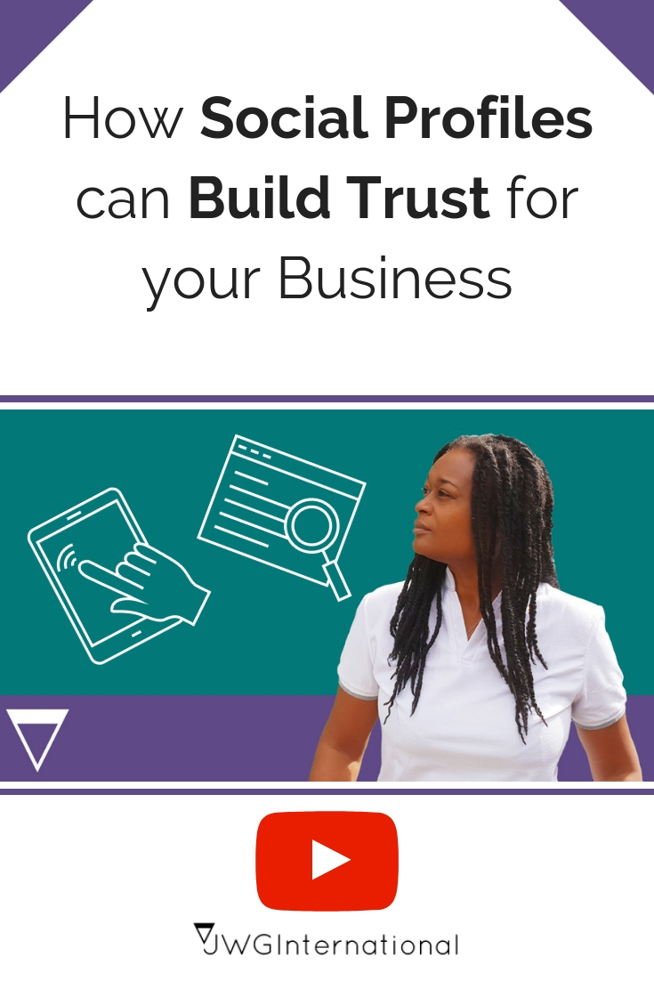 How Social Profiles can help Customers Trust your Business