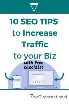 10 seo tips for creative b