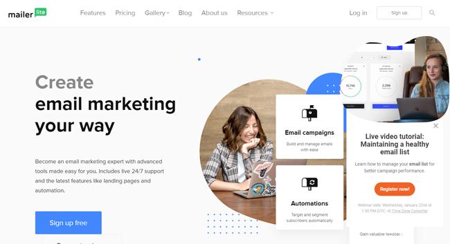 emailing marketing service