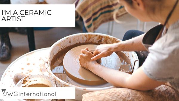 handmade-business ideas ceramic artist