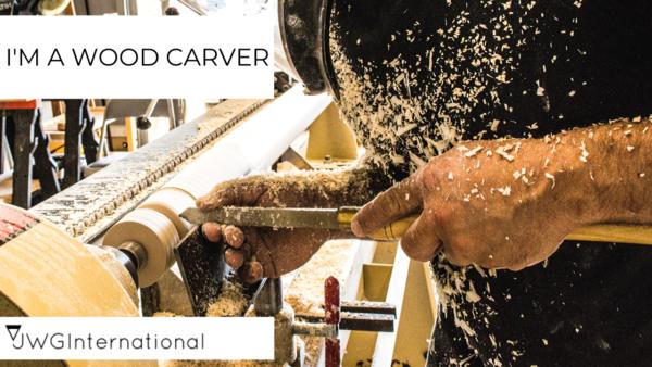 handmade-business ideas wood carver