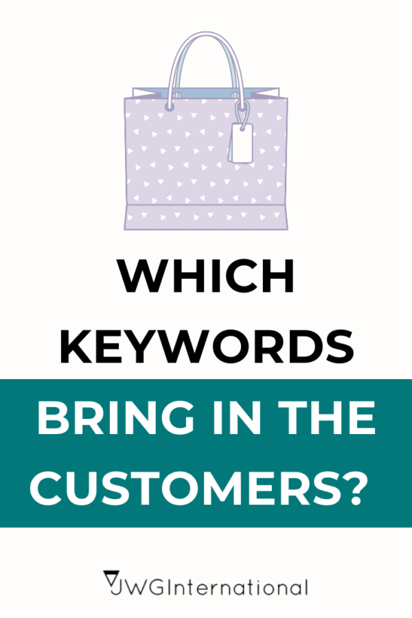 which keywords bring in the customers
